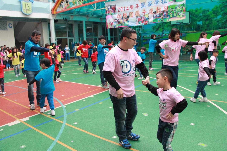 2014學年K3親子運動日
